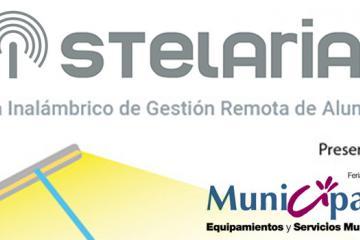 STELARIA, de ELT, presente en Municipalia 2017
